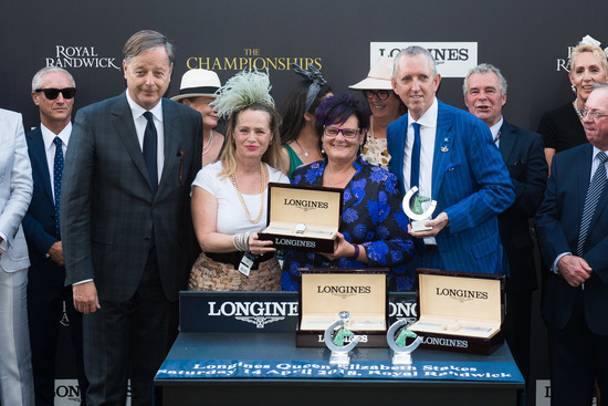 Longines Flat Racing Event: Winx claimed victory at the Longines Queen Elizabeth Stakes 2