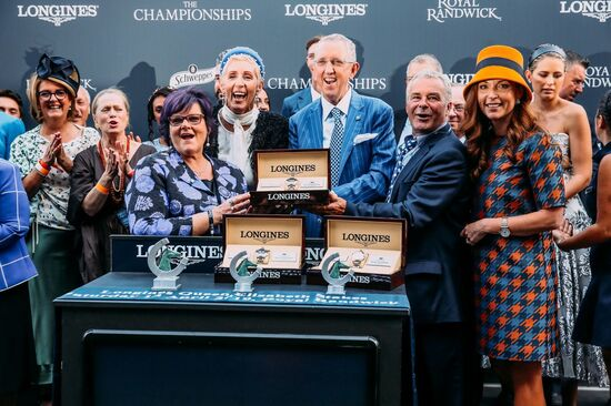 Longines Flat Racing Event: Unforgettable last victory of Winx at the Longines Queen Elizabeth Stakes 4