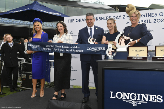 Longines Flat Racing Event: Longines timed the victory of Addeybb in the Longines Queen Elizabeth Stakes 3