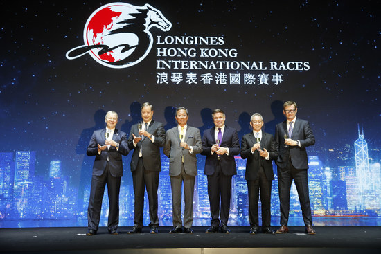 Longines Flat Racing Event: Australian Hugh Bowman receives the 2017 Longines World's Best Jockey Award in Hong Kong 2