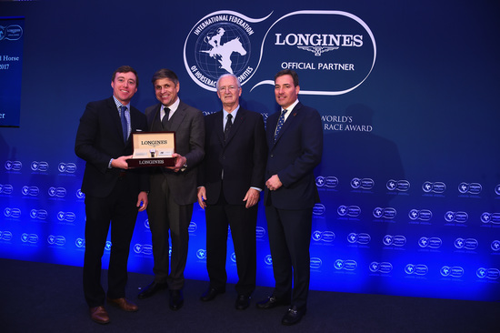 Longines Flat Racing Event: Arrogate crowned the Longines World's Best Racehorse for the second year in a row, Qatar Prix de l'Arc de Triomphe named Longines World's Best Horse Race for the second time 11