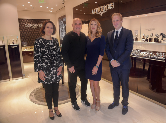 Longines Corporate Event: Andre Agassi and Stefanie Graf inaugurate Longines' new sales corner in Las Vegas  7