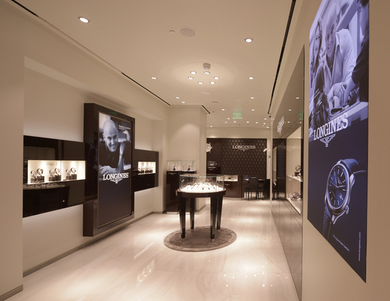 Longines Corporate Event: Andre Agassi and Stefanie Graf inaugurate Longines' new sales corner in Las Vegas  4