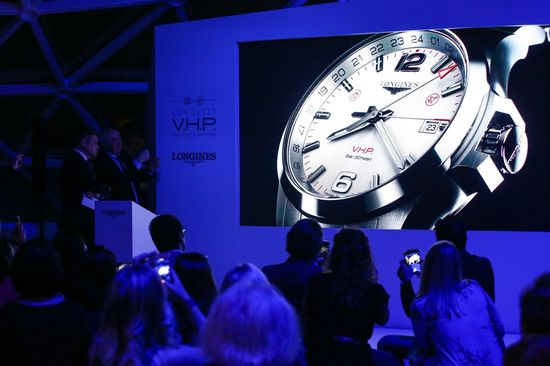 Longines Corporate Event: Longines presents the new Conquest V.H.P. GMT Flash Setting:  the watch made for frequent travelers 11