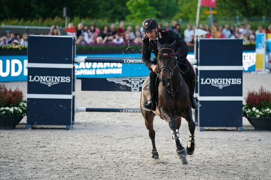 Longines Show Jumping Event: The first Swiss edition of the Longines Masters smiles upon Gudrun Patteet 3