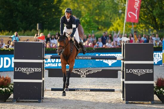 Longines Show Jumping Event: The first Swiss edition of the Longines Masters smiles upon Gudrun Patteet 2