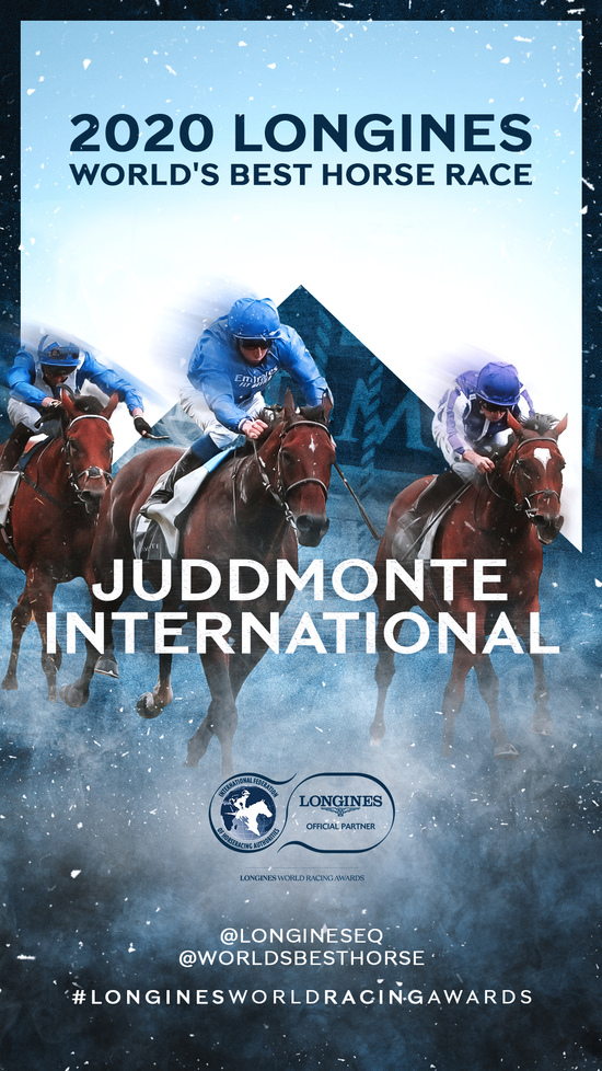 Longines Flat Racing Event: The Longines World Racing Awards honor the Best of the Best in 2020 9