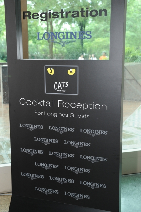 Longines Corporate Event: Longines Master Collection Retrograde, the official watch of CATS 12