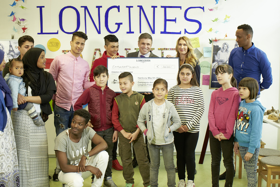 Longines Corporate Event: Children for Tomorrow welcomes Longines to the foundation's headquarters in the presence of Ambassador of Elegance Stefanie Graf 4