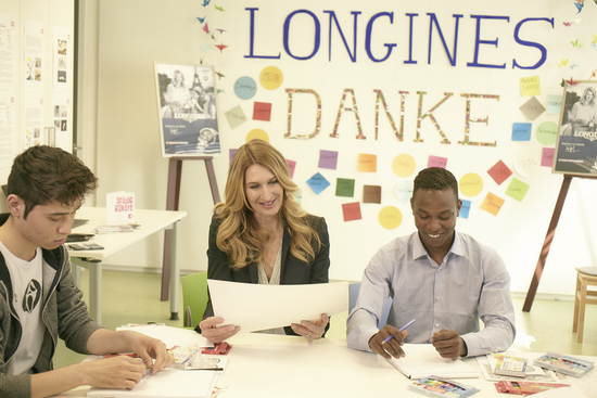 Longines Corporate Event: Children for Tomorrow welcomes Longines to the foundation's headquarters in the presence of Ambassador of Elegance Stefanie Graf 2