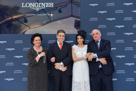 Longines Corporate Event: Longines puts the Longines DolceVita collection in the spotlight during a Garden Party  3