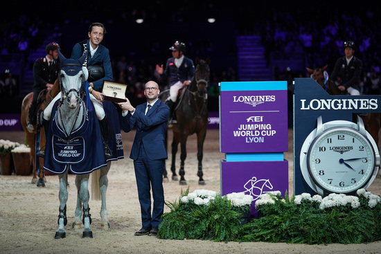 Longines Show Jumping Event: Martin Fuchs and Clooney 51 captured the Longines FEI Jumping World Cup at Longines Equita Lyon, Concours Hippique International 4