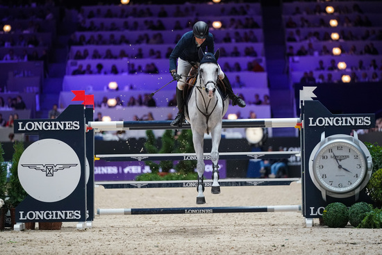 Longines Show Jumping Event: Martin Fuchs and Clooney 51 captured the Longines FEI Jumping World Cup at Longines Equita Lyon, Concours Hippique International 2