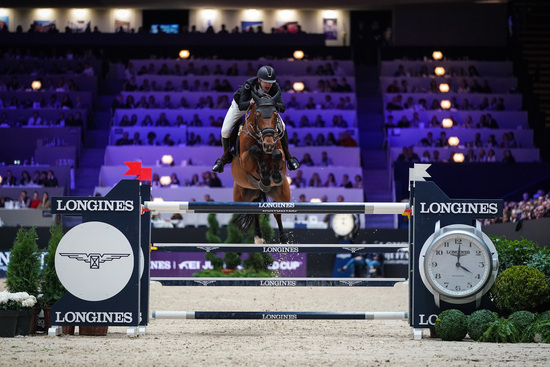 Longines Show Jumping Event: Martin Fuchs and Clooney 51 captured the Longines FEI Jumping World Cup at Longines Equita Lyon, Concours Hippique International 1