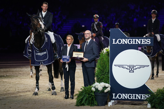 Longines Show Jumping Event: Martin Fuchs and Clooney 51 captured the Longines FEI Jumping World Cup at Longines Equita Lyon, Concours Hippique International 6