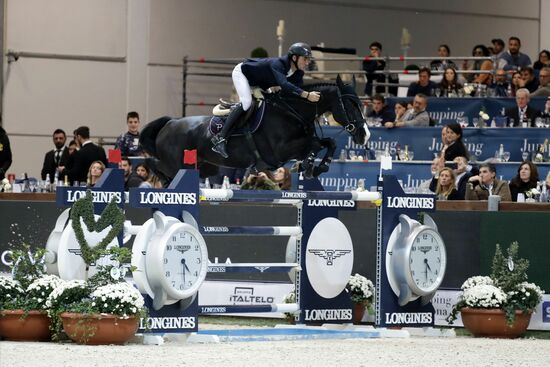 Longines Show Jumping Event: Scott Brash (GB) and Hello M'lady, convincing winners of the Longines FEI Jumping World Cup Verona  2