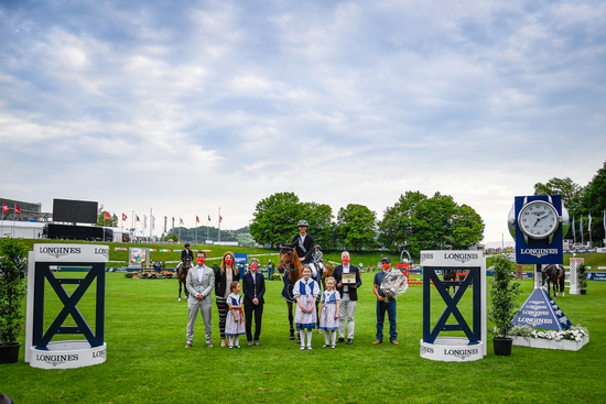 Longines Show Jumping Event: Four days of captivating competitions and exceptional performances for  the Longines CSIO St.Gallen  2