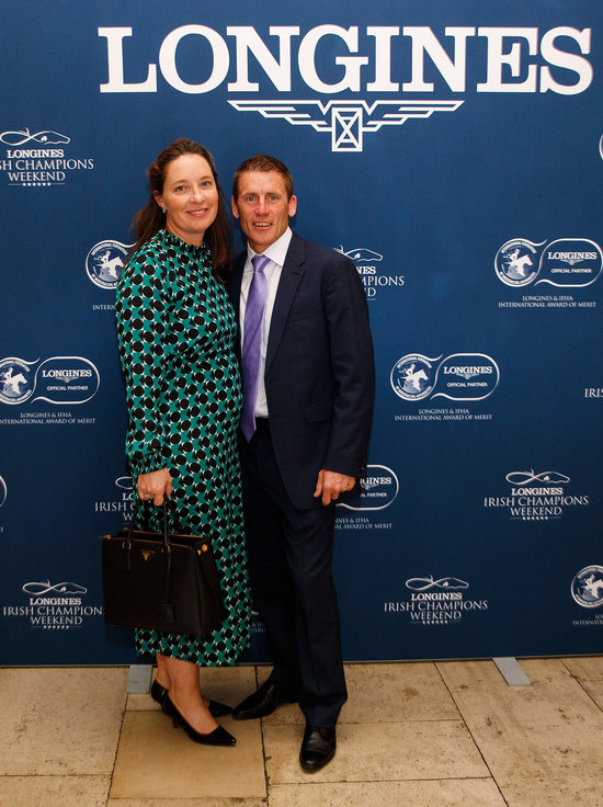 Longines Flat Racing Event: Magnier Family, O'Brien Receive  2018 Longines and IFHA International Award of Merit 1