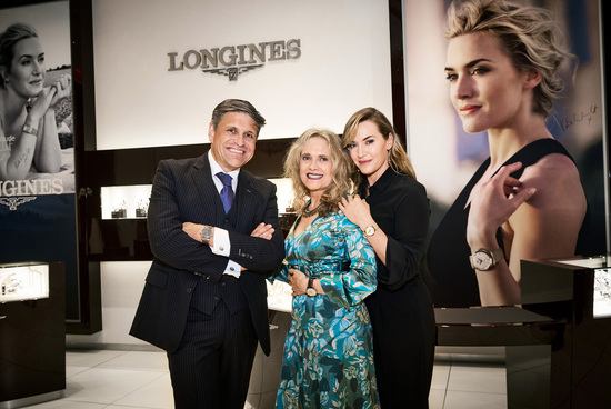 Longines Corporate Event: Longines welcomes its Ambassador of Elegance Kate Winslet in New York for the conclusion of a common charity project for the benefit of the Golden Hat Foundation 9