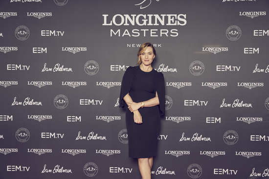 Longines Corporate Event: Longines welcomes its Ambassador of Elegance Kate Winslet in New York for the conclusion of a common charity project for the benefit of the Golden Hat Foundation 4