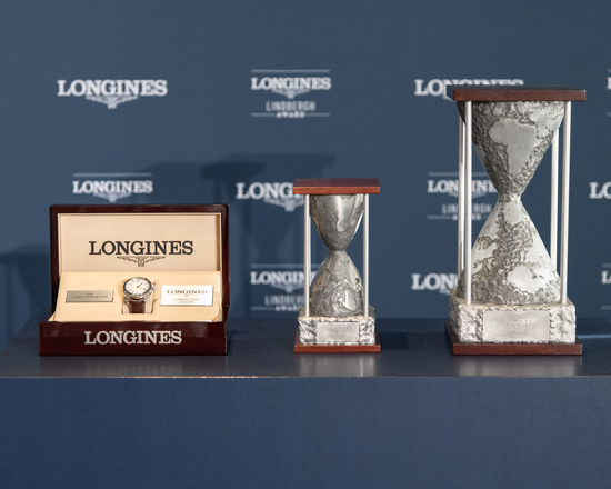 Longines Corporate Event: Erik Lindbergh, Grandson of Famed Aviator Charles Lindbergh, Receives the First Longines Lindbergh Award 5