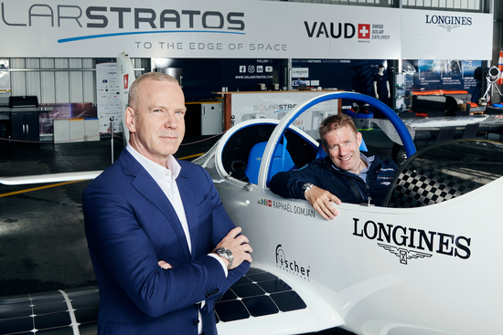 Longines Corporate Event: Longines and SolarStratos take on the solar challenge 1