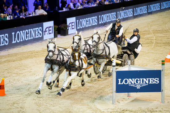 Longines Show Jumping Event: Longines extends its Partnership with the Jumping Indoor Maastricht 2