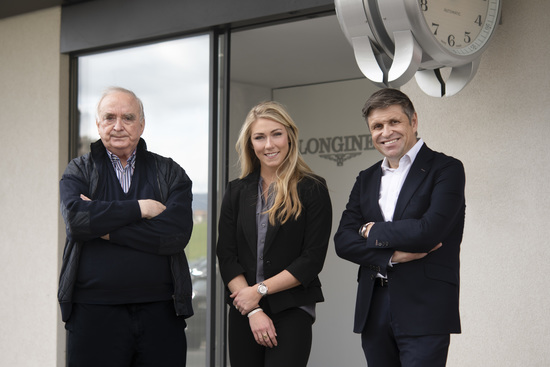 Longines Corporate Event: Longines receives the visit of ski champion and Ambassador of Elegance Mikaela Shiffrin at its headquarters in Saint-Imier 13