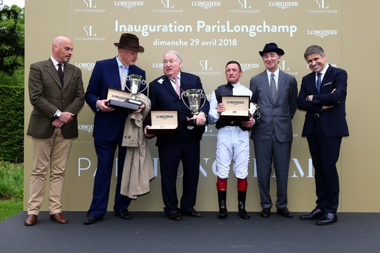 Longines Flat Racing Event: Longines participates in the grand reopening of ParisLongchamp as Official Partner   3