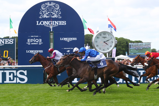 Longines Flat Racing Event: Laurens makes an astounding win at the 2018 Prix de Diane Longines 4