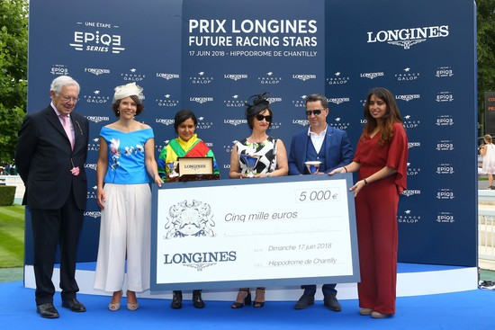 Longines Flat Racing Event: Laurens makes an astounding win at the 2018 Prix de Diane Longines 2