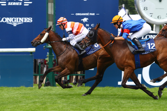 Longines Flat Racing Event: Laurens makes an astounding win at the 2018 Prix de Diane Longines 3