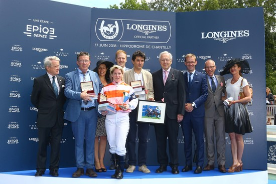 Longines Flat Racing Event: Laurens makes an astounding win at the 2018 Prix de Diane Longines 1