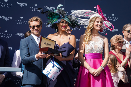 Longines Flat Racing Event: A remarkable 2019 edition of the Prix de Diane Longines in presence of Longines Ambassador of Elegance Simon Baker  7