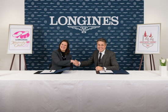 Longines Flat Racing Event: Longines renews its partnership with Churchill Downs as Official Timekeeper of the Kentucky Derby® and unveils the new Longines Kentucky Oaks logo 3