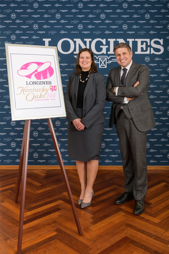 Longines Flat Racing Event: Longines renews its partnership with Churchill Downs as Official Timekeeper of the Kentucky Derby® and unveils the new Longines Kentucky Oaks logo 5