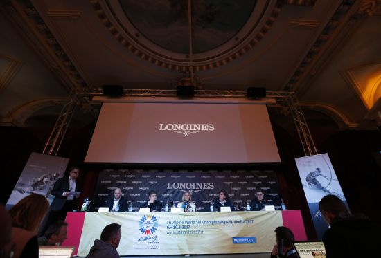 Longines Alpine Skiing Event: Official launch of the Longines Live Alpine Data system at the FIS Alpine World Ski Championships St. Moritz 2017 4