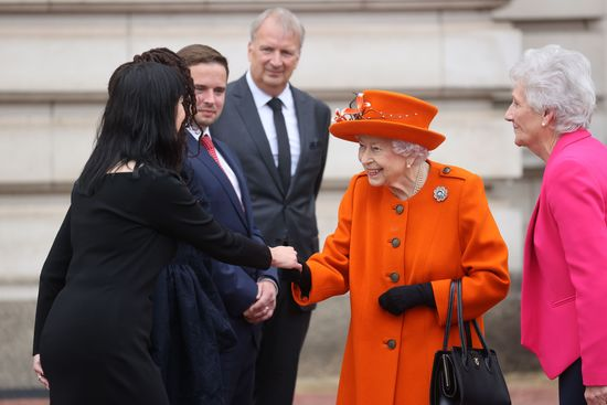 Longines Commonwealth Games Event: Her Majesty the Queen launches the 16th official Queen's Baton Relay for the Birmingham 2022 Commonwealth Games 1