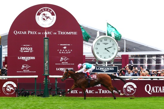 Longines Flat Racing Event: Longines' precision served the prestigious Qatar Prix de l'Arc de Triomphe 1