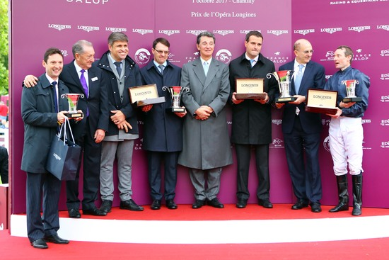 Longines Flat Racing Event: Longines' precision served the prestigious Qatar Prix de l'Arc de Triomphe 3
