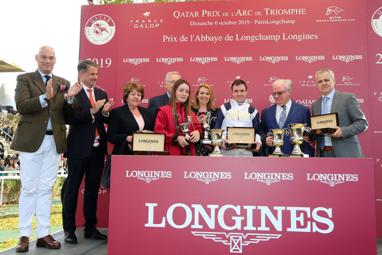 Longines Flat Racing Event: Waldgeist wins the 98th edition of the Qatar Prix de l'Arc de Triomphe 12
