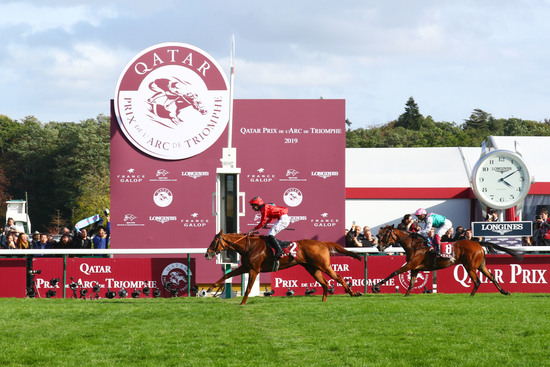 Longines Flat Racing Event: Waldgeist wins the 98th edition of the Qatar Prix de l'Arc de Triomphe 1