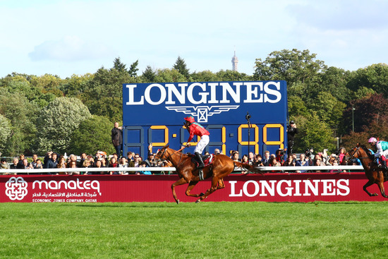 Longines Flat Racing Event: Waldgeist wins the 98th edition of the Qatar Prix de l'Arc de Triomphe 4
