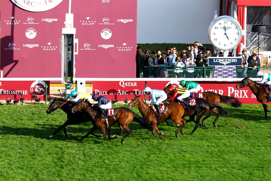 Longines Flat Racing Event: Waldgeist wins the 98th edition of the Qatar Prix de l'Arc de Triomphe 9
