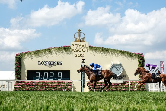 Longines Flat Racing Event: World-class jockeys gather at Royal Ascot for five days of enthralling races timed by Longines 4