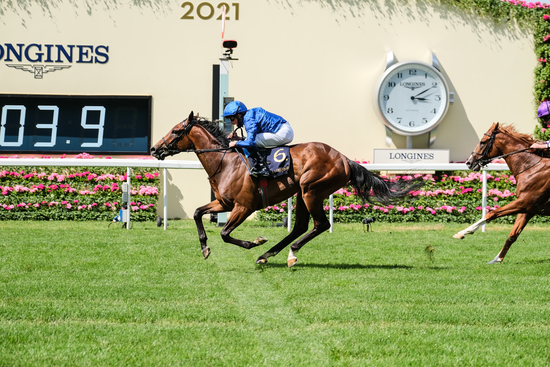 Longines Flat Racing Event: World-class jockeys gather at Royal Ascot for five days of enthralling races timed by Longines 5