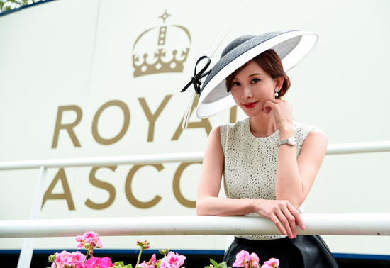 Longines Flat Racing Event: Longines celebrates elegance at Royal Ascot with Chi Ling Lin 1