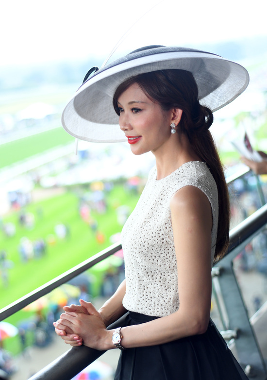 Longines Flat Racing Event: Longines celebrates elegance at Royal Ascot with Chi Ling Lin 8