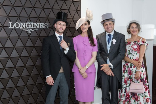 Longines Flat Racing Event: An elegant race day at Royal Ascot with  Longines Ambassador of Elegance Eddie Peng 9