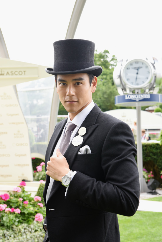 Longines Flat Racing Event: An elegant race day at Royal Ascot with  Longines Ambassador of Elegance Eddie Peng 4